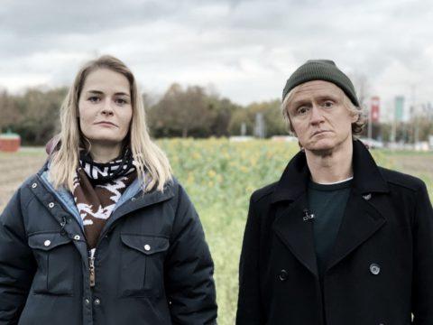 """Hazel Brugger und Pierre M. Krause in der """"Kurzstrecke"""""""